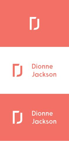 "(Dionne Jackson) Logo design, based on the letters ""D"" and ""J"", for a fundraising advisory organization that helps fundraisers throughout the US be more effective."