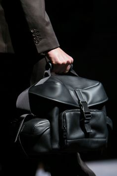 Armani Prive Fall 2015 Couture Hair and Makeup Vogue Paris, Fashion Bags, Mens Fashion, Bagdad, Handbags For Men, Messenger Bag Men, Leather Men, Leather Bags, Leather Craft