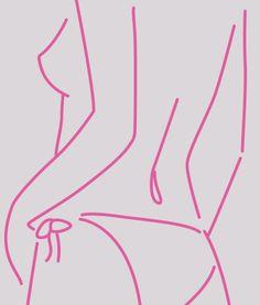 Eyestorm.com | Lucie Bennett | Fuchsia Pants | Online Gallery for Contemporary Art