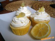 Citonové muffiny s citronovým krémem