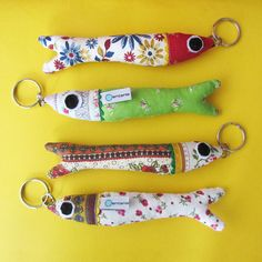 Ventania - Porta-chaves sardinhas