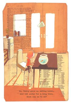 The Incredible Book-Eating Boy by Oliver Jeffers