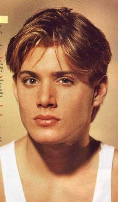 """Buzzfeed's """"The Many Pouts of Jensen Ackles"""":  #6 The Soap-Star. ....... When Jensen Ackles played ERIC BRADY on DAYS"""