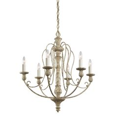 This delicate 6 light chandelier from the Hayman Bay collection will make a memorable statement in your home. Trusted Lighting Experts. Low Price Guarantee.