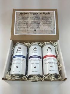 Coffees Around the World Gift Box