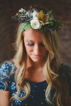 floral crown | Eliza
