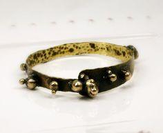 Bangle Bracelets Stacking Bangles Brass Bangles by jihidesigns