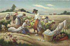 ART & ARTISTS: Thomas Hart Benton - part 2 poulwebb.blogspot.com1024 × 669Buscar por imagen 1945 Field Workers (Cotton Pickers) oil on canvas 22 x 34 cm Buscar con Google