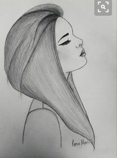 Sad Girl – drawing by Roosa Mari. Credit due to website InspireLeads. Sad Girl – drawing by Roosa Mari. Credit due to website InspireLeads. Easy Pencil Drawings, Tumblr Drawings Easy, Easy People Drawings, Love Drawings, Art Drawings Sketches, Drawing People, Easy People To Draw, Easy Drawings Of Girls, How To Draw Girls