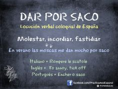 Dar por saco | Colloquial Spanish Expression