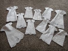 Angel Gowns for NICU Helping Hands.. burial gowns for premies from donated wedding gowns.  A beautiful, thoughtful act.