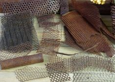 Metal Wire Mesh for Fabric Artists, Metal Screen, Metal Sculpture Supply, Heavy…