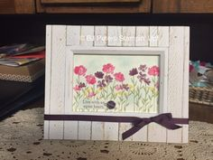 Wow, I LOVE the new Painted Petals stamp set in the 2015 Stampin' Up! Occasions…