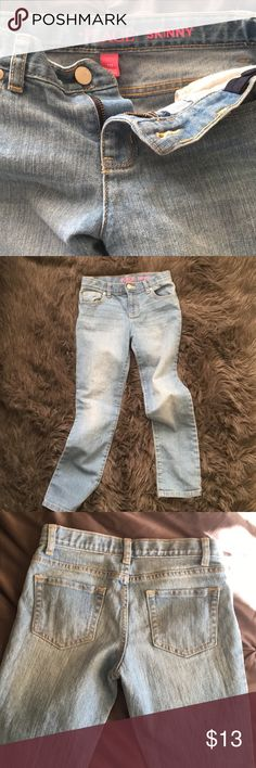 """""""The skinny"""" Children's Place skinny jeans. You know children wear nothing for more than 6mths. Great condition adjustable waist Children's Place Bottoms Jeans"""