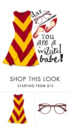 """STAR WIZARD"" by veselaviktori on Polyvore featuring Slater Zorn, EyeBuyDirect.com and Shoes of Prey"