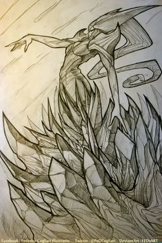 Elohell.net :: Chillout :: Sketching Lissandra
