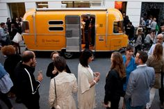 The Veuve Clicquot Champagne Food Truck