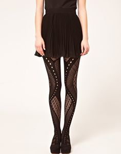 ASOS Gipsy Net Panel Tights - cheaper alternative to Will You Still Love Me Hosiery.. yet to buy!