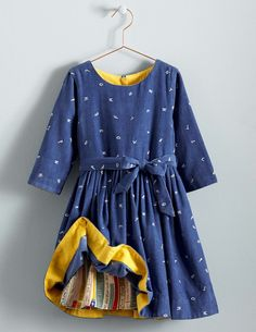 This Matilda dress by Mini Boden is great for costumes, trips to the theater, and holiday photos