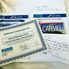 Hand delivered welcome packet to Carmel Chamber #carmelbythesea #carmelchamberofcommerce #mcnickleconstruction #keepitlocal #construction #carmellocals #montereybaylocals - posted by Ryan McNickle https://www.instagram.com/mcnickleconstruction - See more of Carmel By The Sea, CA at http://carmellocals.com