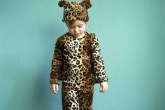 Nähanleitung und Schnittmuster Kinderkostüm Leopard - Schnittmuster und Nähanleitungen bei makerist