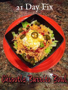 21 Day Fix Chipotle Burrito Bowl recipe. 21 Day Fix Pork Carnitas recipe. 21 Day Fix Crockpot Recipe. 21 Day Fix freezer friendly recipes.