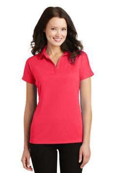Port Authority® Ladies Crossover Raglan Polo. L575
