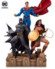 Thursday morning brings us a DC Collectibles panel at Comic-Con…and a DC Collectibles clip on All Access! Get an up-close look at some of the stunning statues and awesome action figures revea… Marvel Statues, Comic Art, Comic Books, Dc Trinity, Dc Comics Art, Batman Vs Superman, San Diego Comic Con, Marvel Vs, Character Design