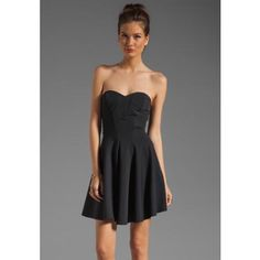 strapless little black dress « Bella Forte Glass Studio
