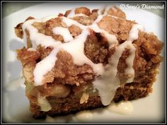 Soxy's Diamond: Pumpkin Apple Spice Cake With Cream Cheese Frosting