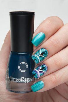 Brand: Dance Legend // Collection: Top Aquarelle // Color: Sisley // Blog: Annagorelova