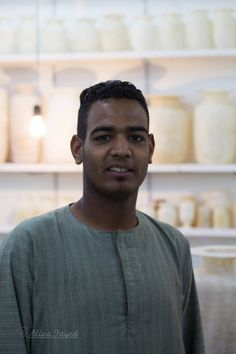 A seller at Alabaster Factory . — in Luxor. #photography #Faces #portrait #Egypt #Travel #Luxor #Aswan