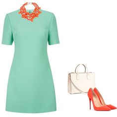 Great color combo for a spring interview outfit!