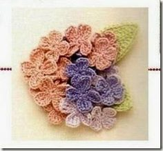 Crochet Flowers And Accessories