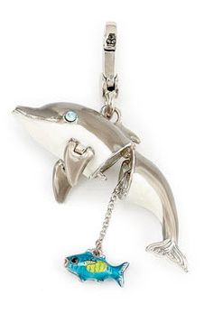 Juicy dolphin charm