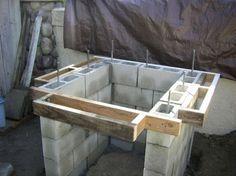 Monolithic Single Pour Brick Pizza Oven Base