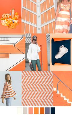 S/S 2017 pattern & colors trends: ORANGE SLICE