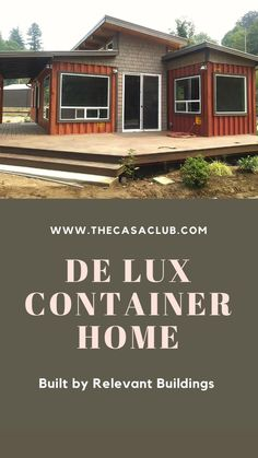 Shipping Container Design, Container House Design, Container Houses, Log Homes, Tiny Homes, Building A Container Home, Little Cabin, Rustic Cabin Decor, Tiny House Living