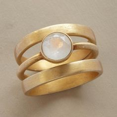 Solo Luna Rings, Set Of 3 from Sundance on Catalog Spree