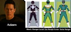 Yellow Rangers from across time