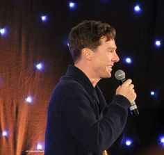 PROFILE ♥ {Benedict Cumberbatch at the Starfury Elementary convention}