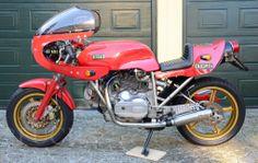 DUCATI • EGLI 900 SS Corsaro Rosso