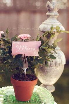 Thank you gifts at Baby Shower, or any occasion for that matter.