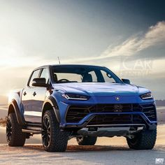 Game changer. Lamborghini Urus pick-up concept by @gabe.design x @carlifestyle . What do you think of it? Dope or nope?
