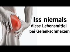 Trink dieses Getränk um Knie- und Gelenkschmerzen in 5 Tagen los zu werden! - YouTube