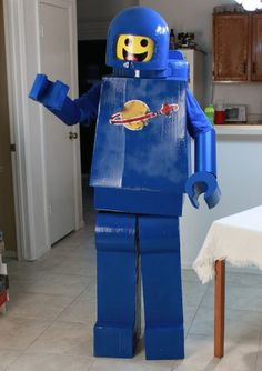 Picture of Make a Lego Man Costume (Lego Movie Benny)