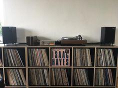 Quad and vinyl record Vintage Audio