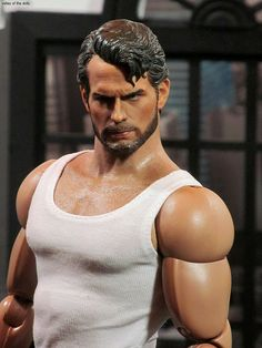 Henry Cavill Action Figure -Bearded Version    .....WOW! Ken never looked this good!  lol