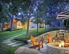 River House - traditional - landscape - austin - by Shiflet Group Architects