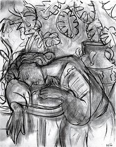 The Dream / study - Henri Matisse